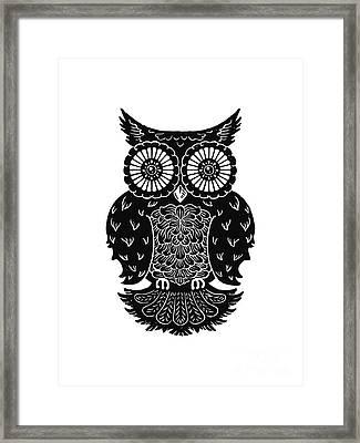 Sophisticated Owls 3 Of 4 Framed Print