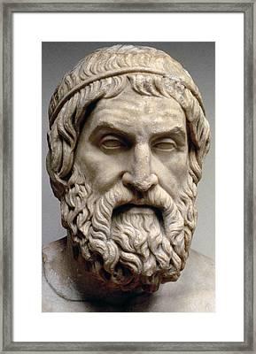 Sophocles Framed Print by Greek School