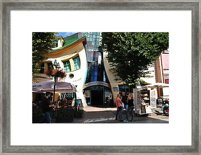 Sopot Seaside Resort Framed Print by Jacqueline M Lewis