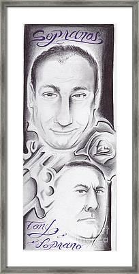 Sopranos Framed Print by Tasha Clarke