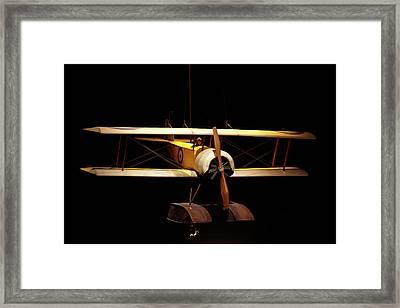 Sopwith Baby Seaplane, Omaka Aviation Framed Print