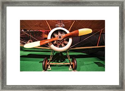 Sopwith Camel Airplane Framed Print by Dan Sproul