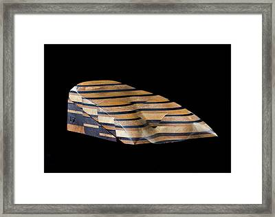 Sopwith Model Iv: Surface Coal Indication Framed Print by Natural History Museum, London