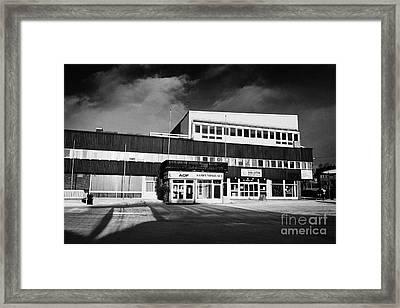 Sor-varanger Public Library Kirkenes Finnmark Norway Europe Framed Print