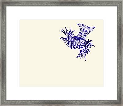 Sore Framed Print by Leah Chyma