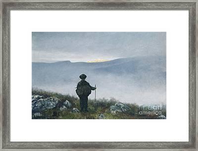 Soria Moria Framed Print
