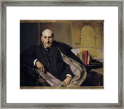Sorolla, Joaqu�n 1863-1923. Doctor Framed Print by Everett