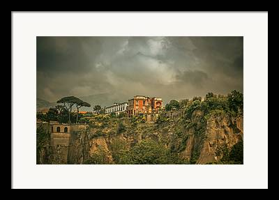 Mediterranean House Framed Prints