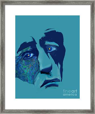 Sorrow Framed Print by Gabrielle Schertz
