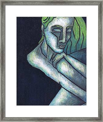 Sorrow Framed Print by Kamil Swiatek