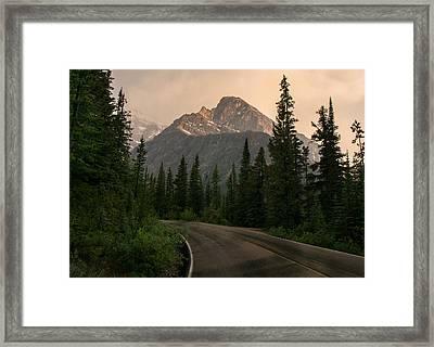 Sorrow Peak  Framed Print