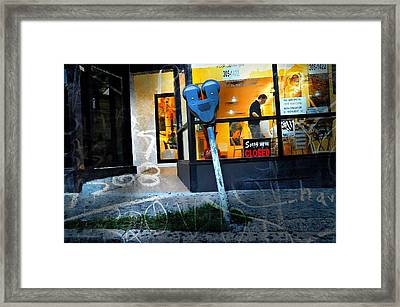 Sorry We Are Closed Framed Print by Diana Angstadt