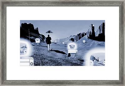 SOS Framed Print by Mike McGlothlen