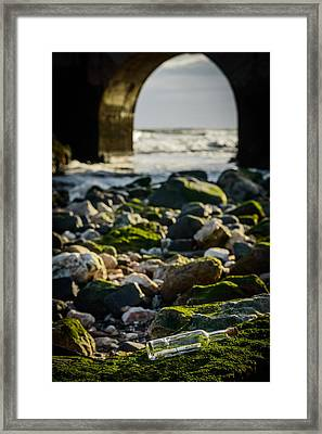 Sos To The World II Framed Print by Marco Oliveira