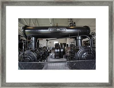 Soudan Mine Engine House Framed Print
