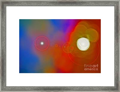 Soul Birth Series Fertilization Framed Print