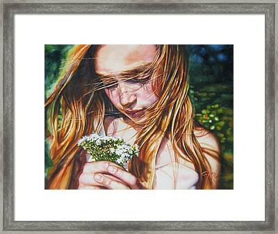 Soul Blossoms Framed Print by Tracy Male