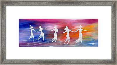 Soul Dance  Framed Print by Marianna Mills