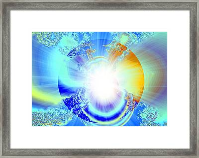 Soul Expansion Framed Print