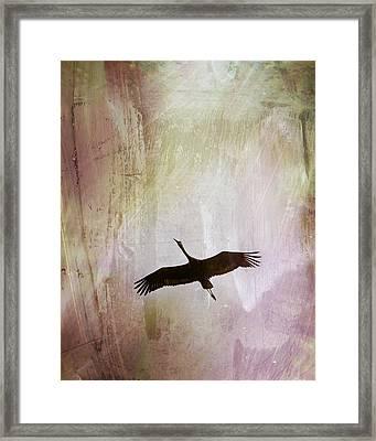 Soul Flying Framed Print by Melissa Smith