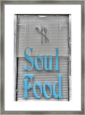 Soul Food Framed Print by Jane Linders