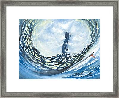 Soul In The Bowl Framed Print