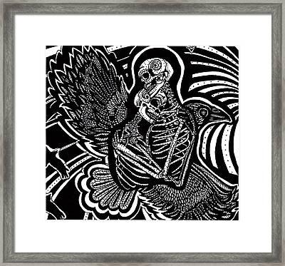 Soul Mates Framed Print by Judy Moon