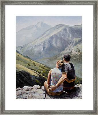 Soul Mates Framed Print by Mary Giacomini