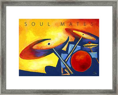 Soul Mates Poster Framed Print by Stephen Anderson