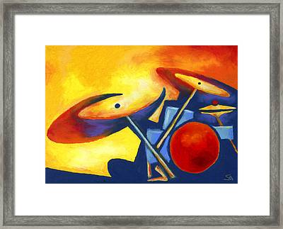Soul Mates Framed Print by Stephen Anderson