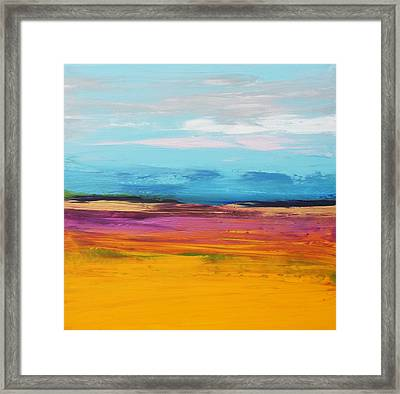 Soul Mining Framed Print by Sally Kelly