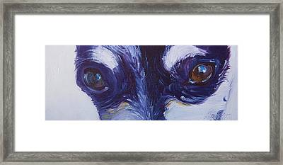 Soul Of The Dog #4 Framed Print