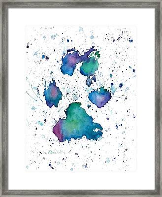 Soul Print Framed Print by D Renee Wilson