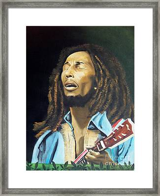 Soul Rebel Framed Print by Kenneth Harris