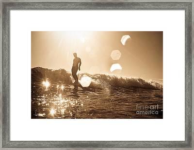 Soul Shine 2 Framed Print by Paul Topp