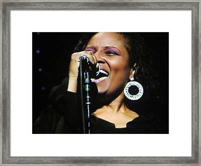 Soul Singer Framed Print by Aaron Martens