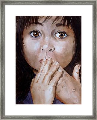 Soul Tears Framed Print