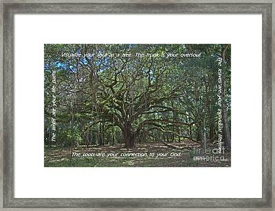 Soul Tree Framed Print
