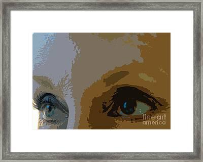 Soul Window Framed Print