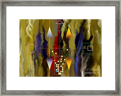 Souls Of The City Framed Print