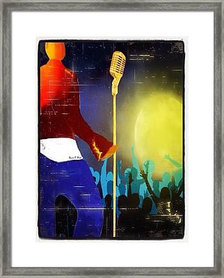 Soulsinger Framed Print by Romaine Head