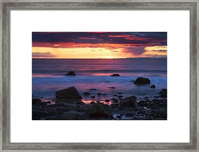 Sound Colors Framed Print