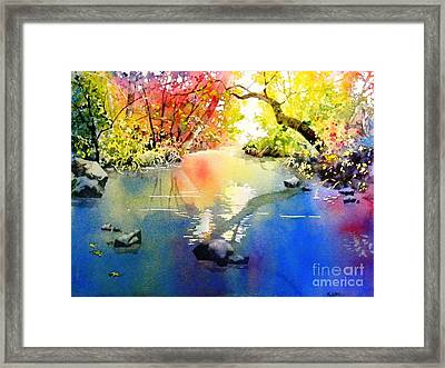 Sound Of Calmness Framed Print