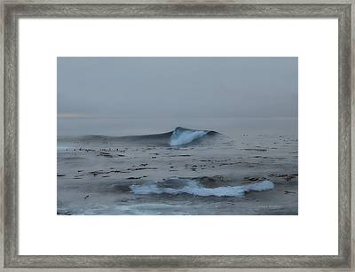 Sound Of Silence Framed Print