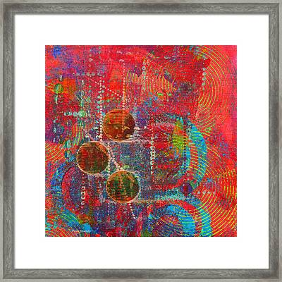 Sound Signs Framed Print by Moon Stumpp