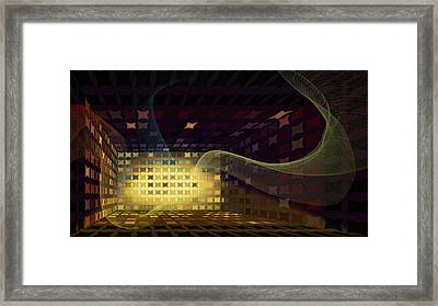 Sound Vent Framed Print by Constance Krejci