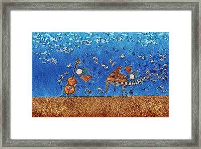 Sounds Blown In The Wind Framed Print by Gianfranco Weiss