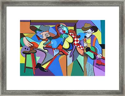 Sounds Like A Country Song Framed Print by Anthony Falbo