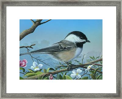 Framed Print featuring the painting Sounds Of Spring by Mike Brown