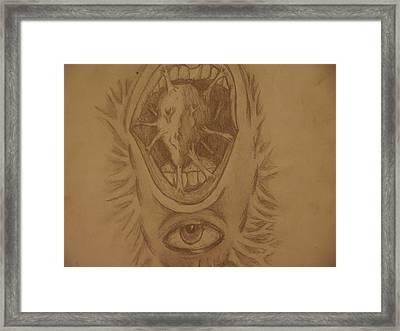 Sounds Of The Heart Framed Print by Joshua Massenburg
